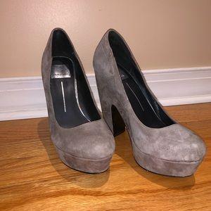 Dolce Vita suede heels